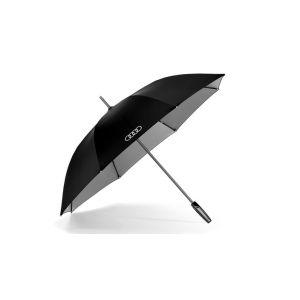 Зонт черно-серебристый трость (120 см) 3121500100