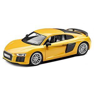 Модель Audi R8 V10 plus Coupe 1:24 сборная , цвет жёлтый 3201600300